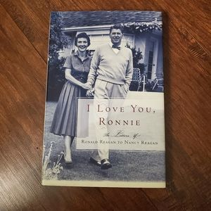 I Love You Ronnie Love Letters Book